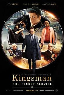 Kingsman: The Secret Service (2014) ***