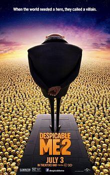 Despicable Me 2 (2013) ***