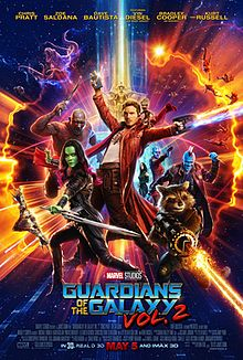 Guardians of the Galaxy Vol. 2 (2017) ****