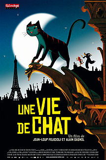 A Cat in Paris (France, 2010) ****