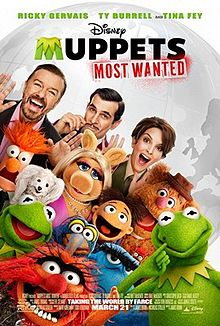 Muppets Most Wanted (2014) ***