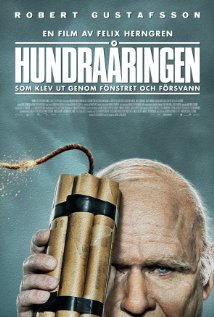 The Hundred-Year-Old Man Who Climbed Out the Window and Disappeared (2013, Sweden) ****